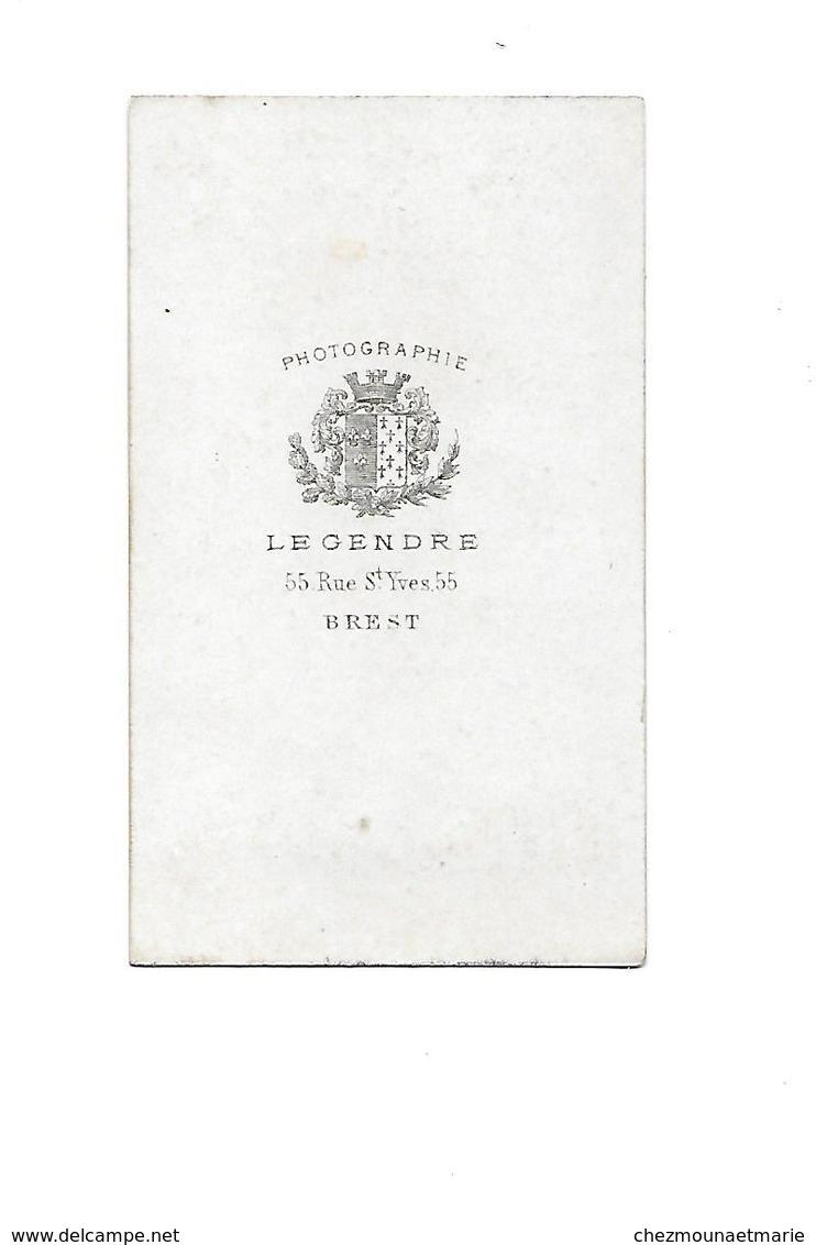 BREST JEUNE MARIN MOUSSE - CDV PHOTO LEGENDRE FINISTERE MARINE - Anciennes (Av. 1900)