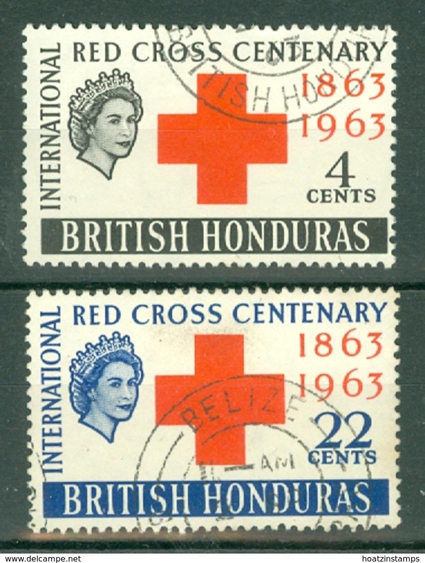 British Honduras: 1963   Red Cross   Used - Britisch-Honduras (...-1970)