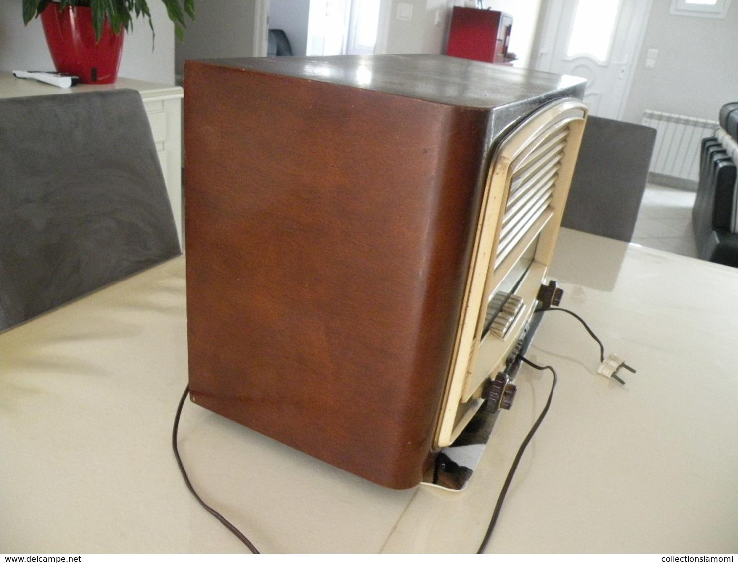 Postes Radio TSF Grammont (Cherubin) En état De Fonction (0,50cm X 0,25 Cm H 0,31) - Apparatus