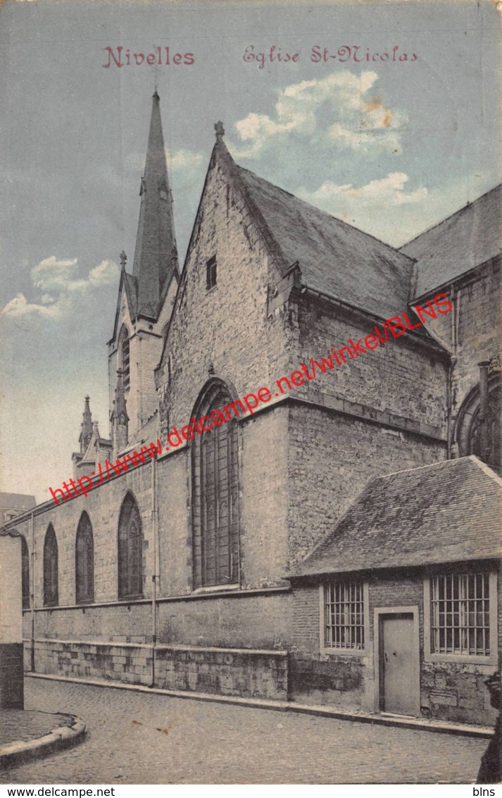 Eglise St-Nicolas - Nivelles Nijvel - Nivelles