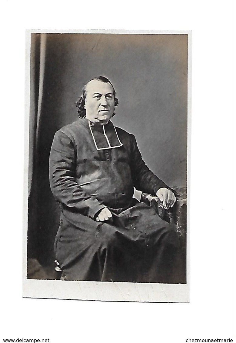 ABBE CURE PRETRE RELIGIEUX - CDV PHOTO - Anciennes (Av. 1900)