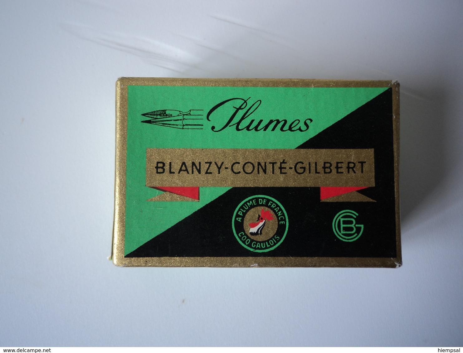 Boite Neuf  De 100 Plumes   Babillarde  Cementee   N° 2770  Blazy- Conté- Gilbert   Plomble - Plumes