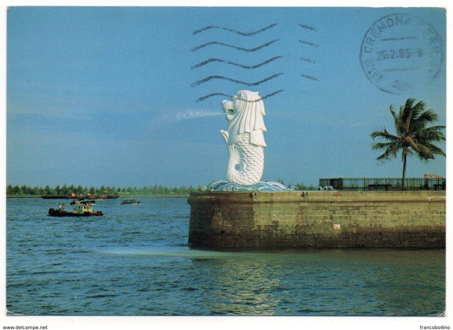 SINGAPORE - THE MERLION SYMBOL OF SINGAPORE / THEMATIC STAMPS-SHIP - Singapore