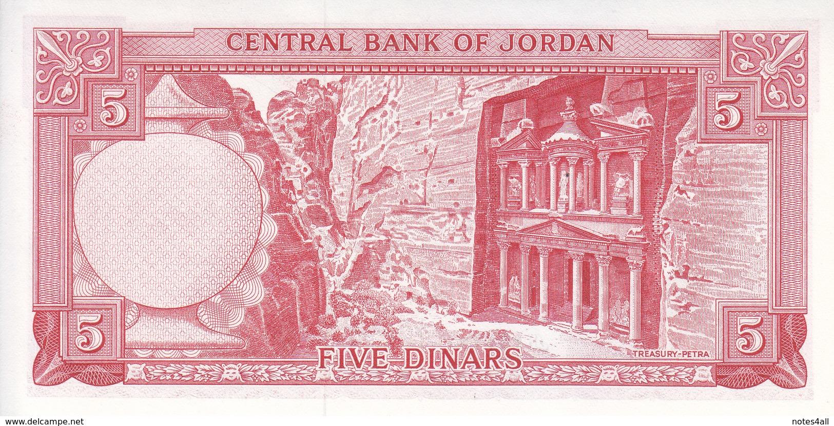 JORDAN 5 DINARS 1959 P-15b UNC */* - Jordan
