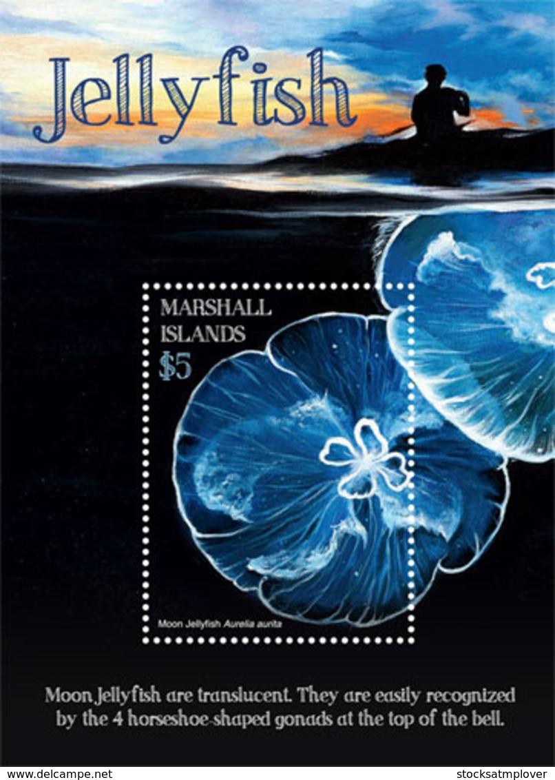 Marshall Islands   2019 Fauna  Jelly Fish   I201901 - Marshall