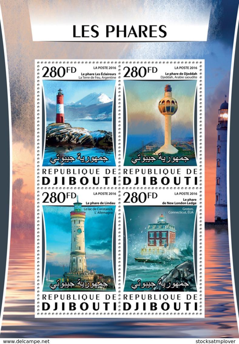 Djibouti 2016  Lighthouses - Djibouti (1977-...)