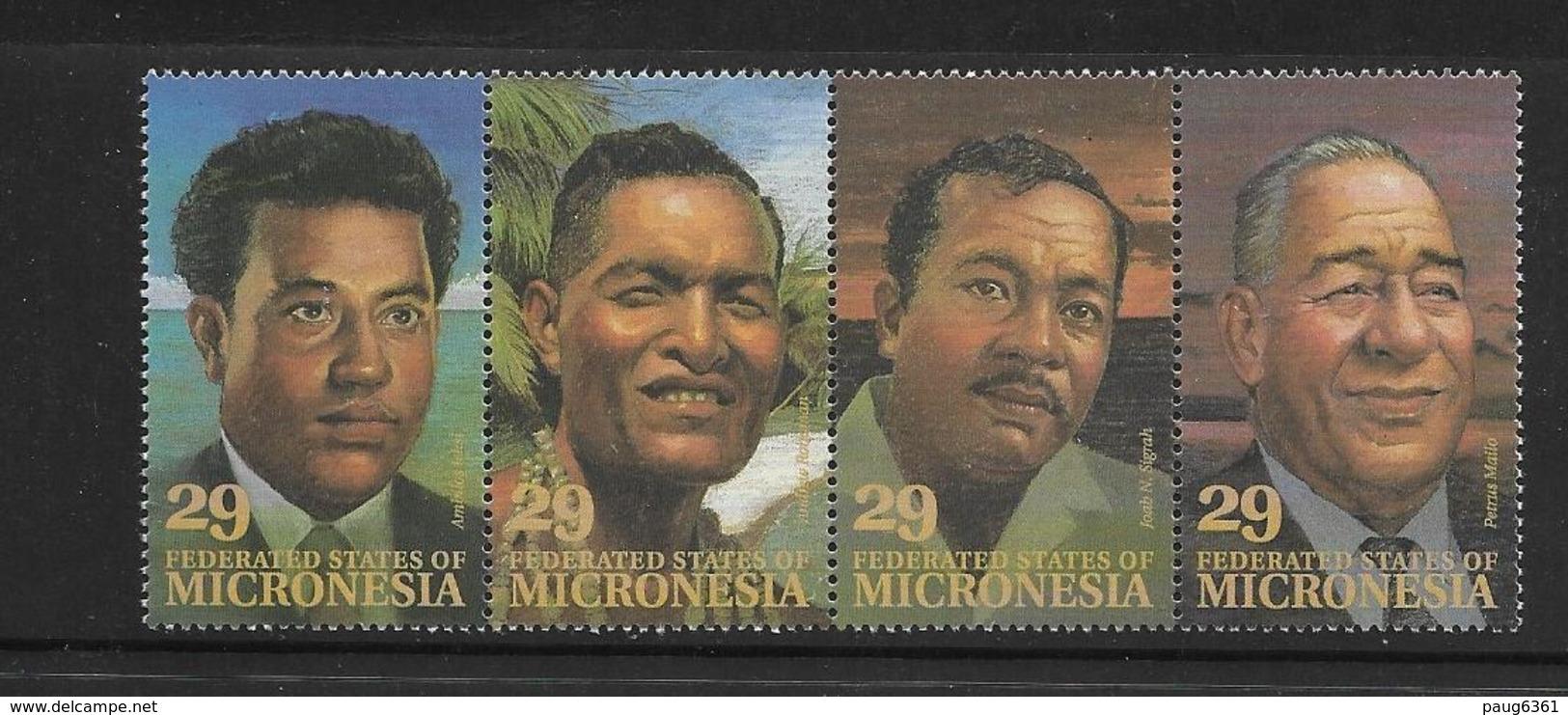 MICRONESIE 1993 DIRIGEANTS LOCAUX YVERT N°234/39 NEUF MNH** - Micronésie