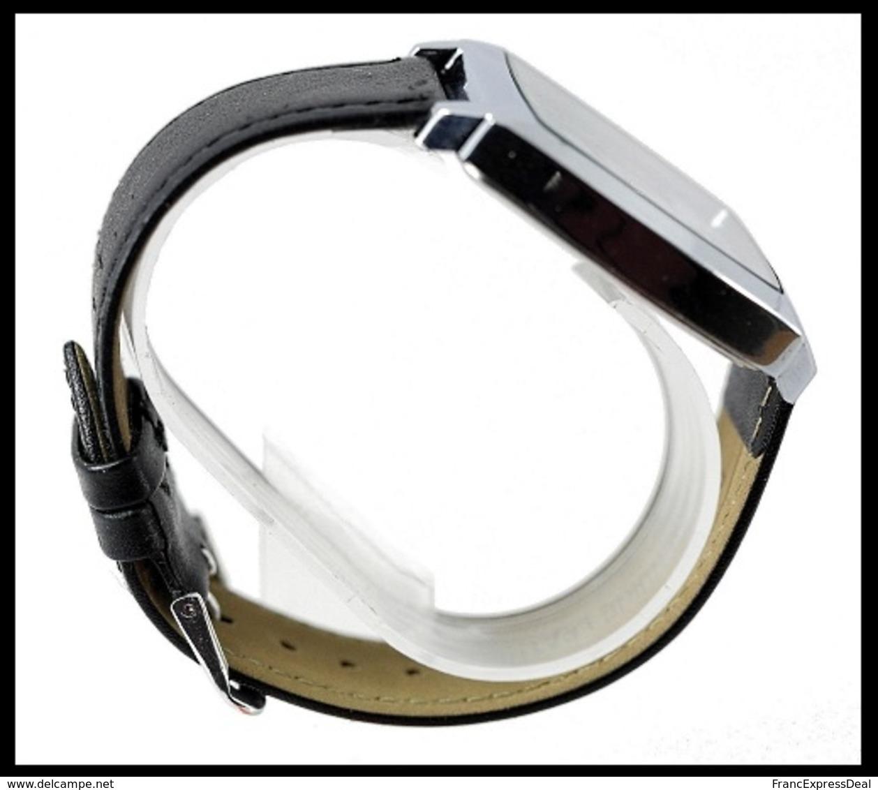 Montre à Quartz NEUVE Bracelet Cuir ! ( Watch ) - The Rolling Stones - Montres Modernes