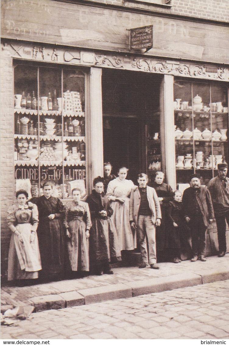 AUMALE   Maison C Mondon Café, épicerie, Poterie N° 130 Sur 1000 Ex - Aumale