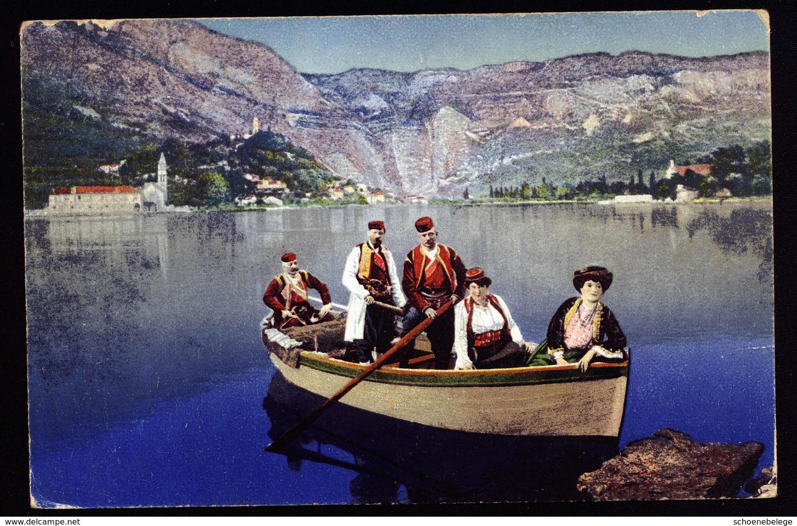 A6276) Austria Karte K.u.k.Marine SMS Kaiser Franz Josef 13.04.17 - 1850-1918 Imperium