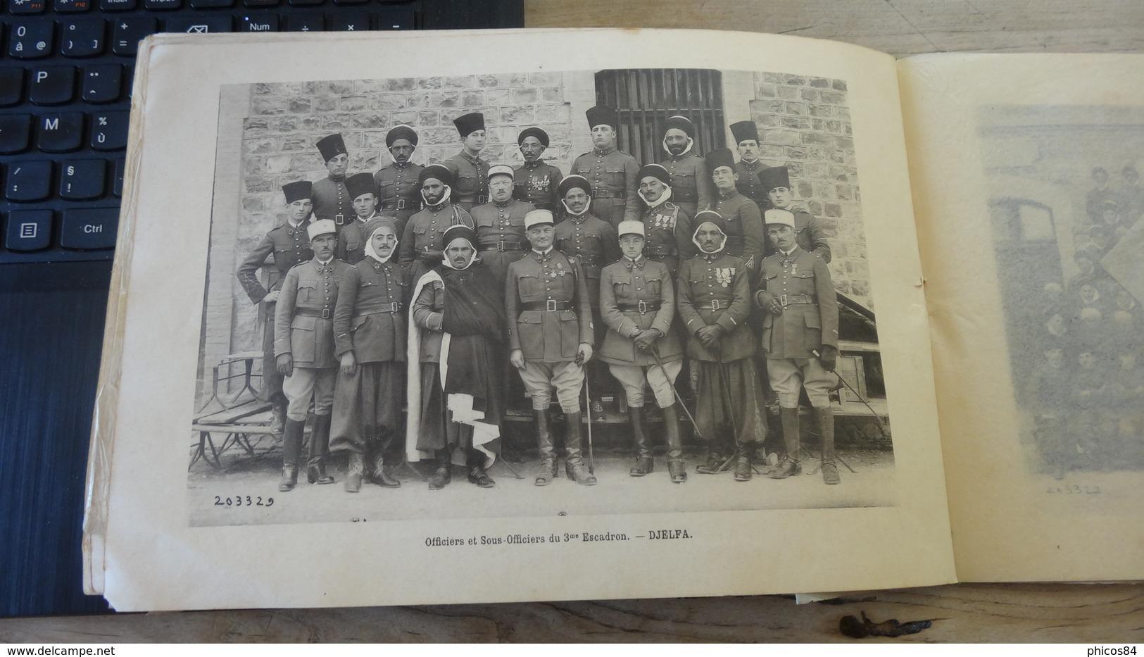 Livret  Du 1er Régiment De SPAHIS ALGERIENS, Médéa - 1932 - Libri, Riviste & Cataloghi
