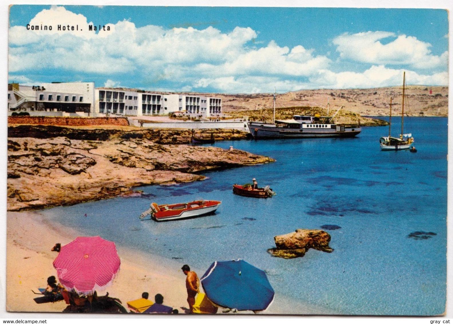 Comino Hotel, Malta, Unused Postcard [23401] - Malta