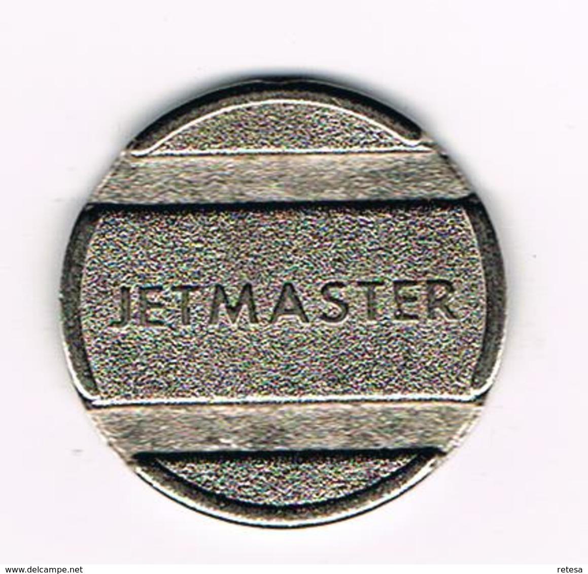 // JETON JETMASTER ( CARWASH ) - Monetary / Of Necessity