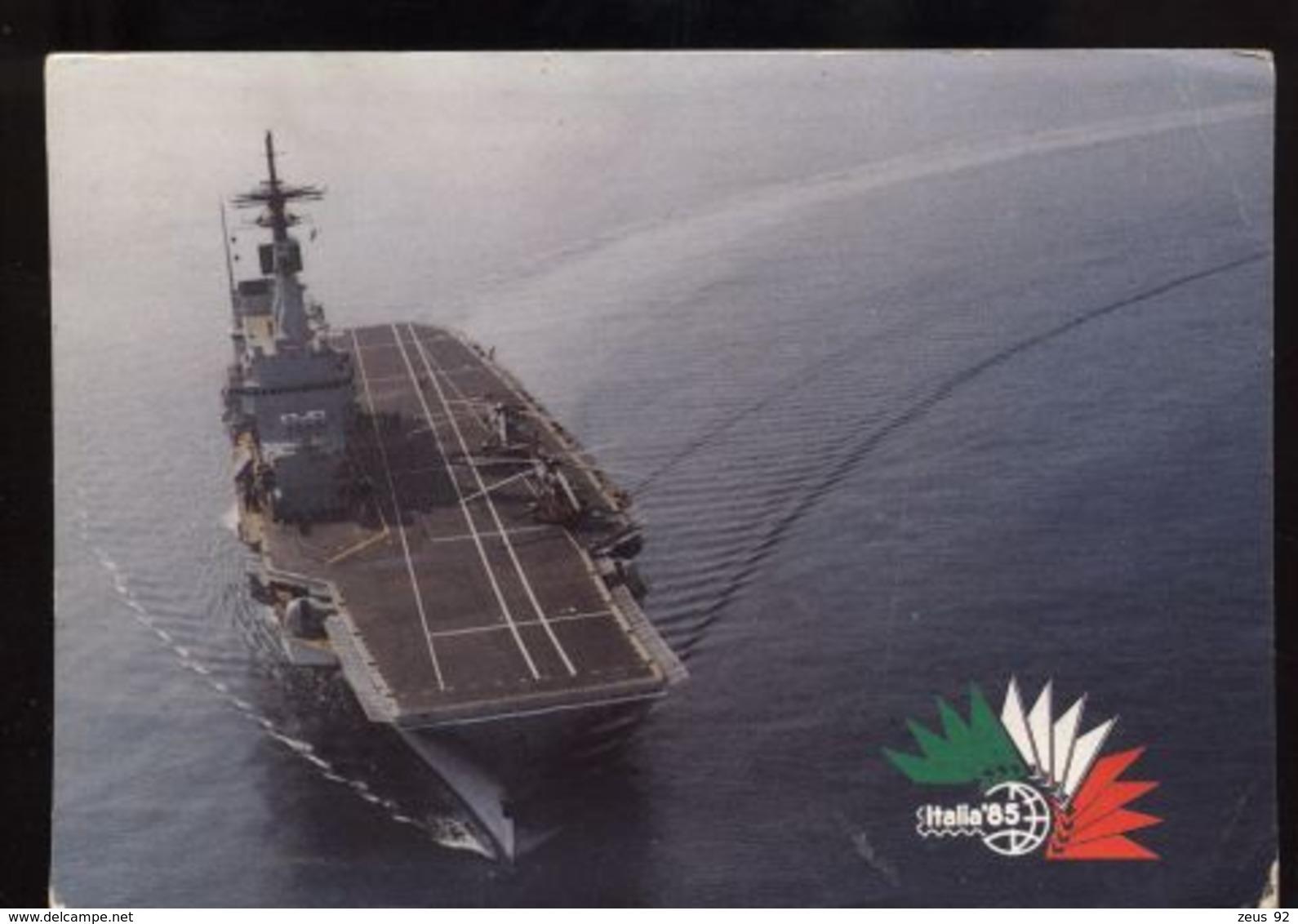 C1855 STATO MAGGIORE DELLA MARINA - ITALIA '85 - INCROCIATORE GIUSEPPE GARIBALDI - Guerra