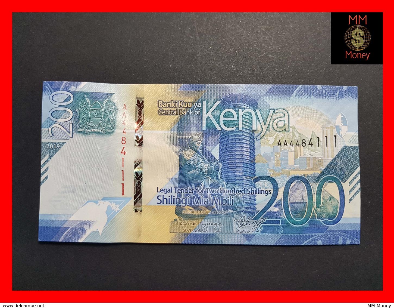 KENYA 200 SHILLINGS 2019 P. NEW UNC - Kenya