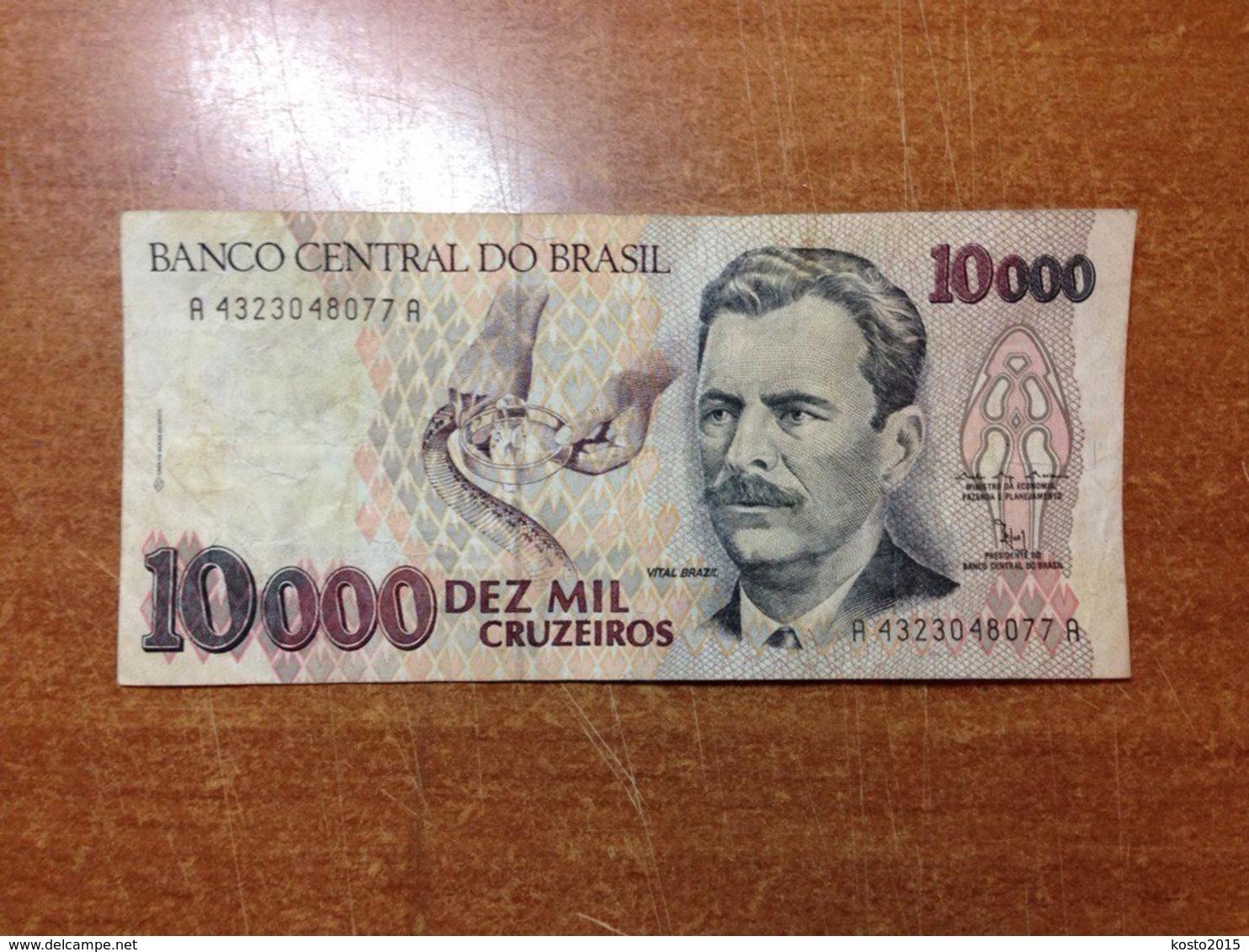 Brazil 10000 Cruzeiros - Brazil
