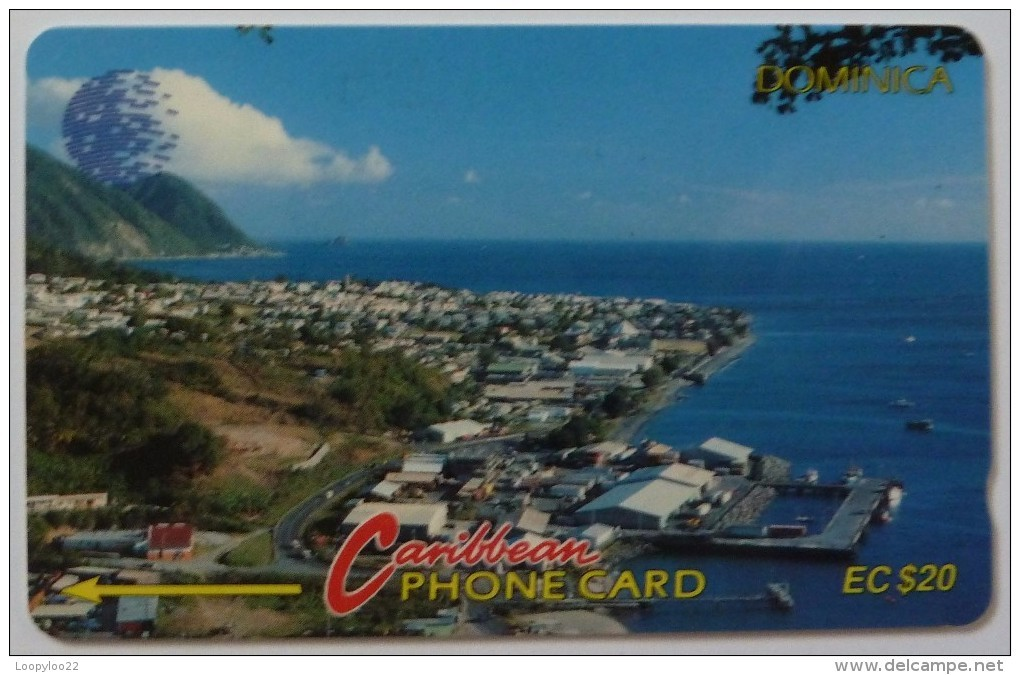 DOMINICA - GPT - 6CDMA - $20 - DOM-6A - View Of Roseau - Used - Dominica