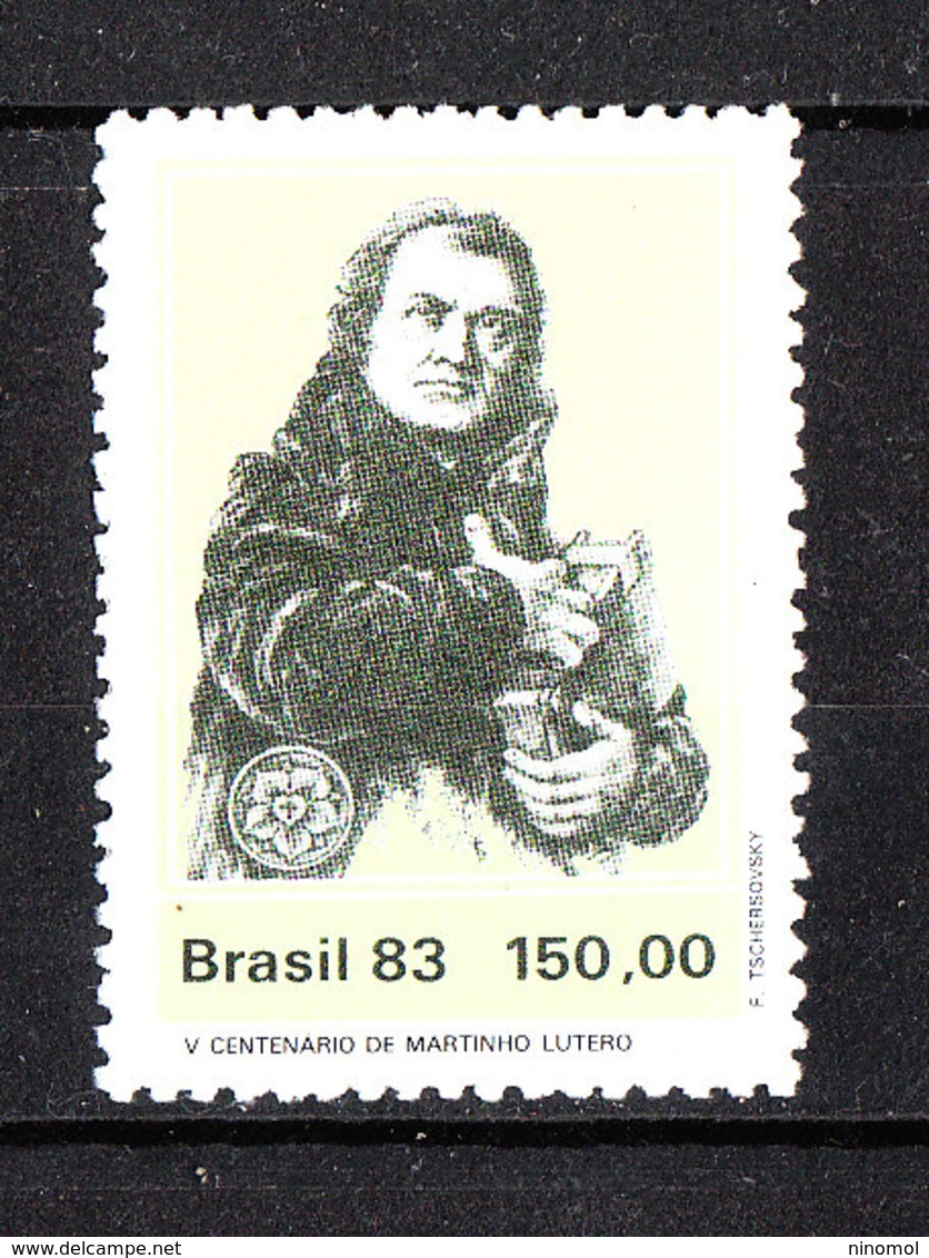 Brasile   -  1983. Martin Lutero. Martin Luther. MNH - Altri
