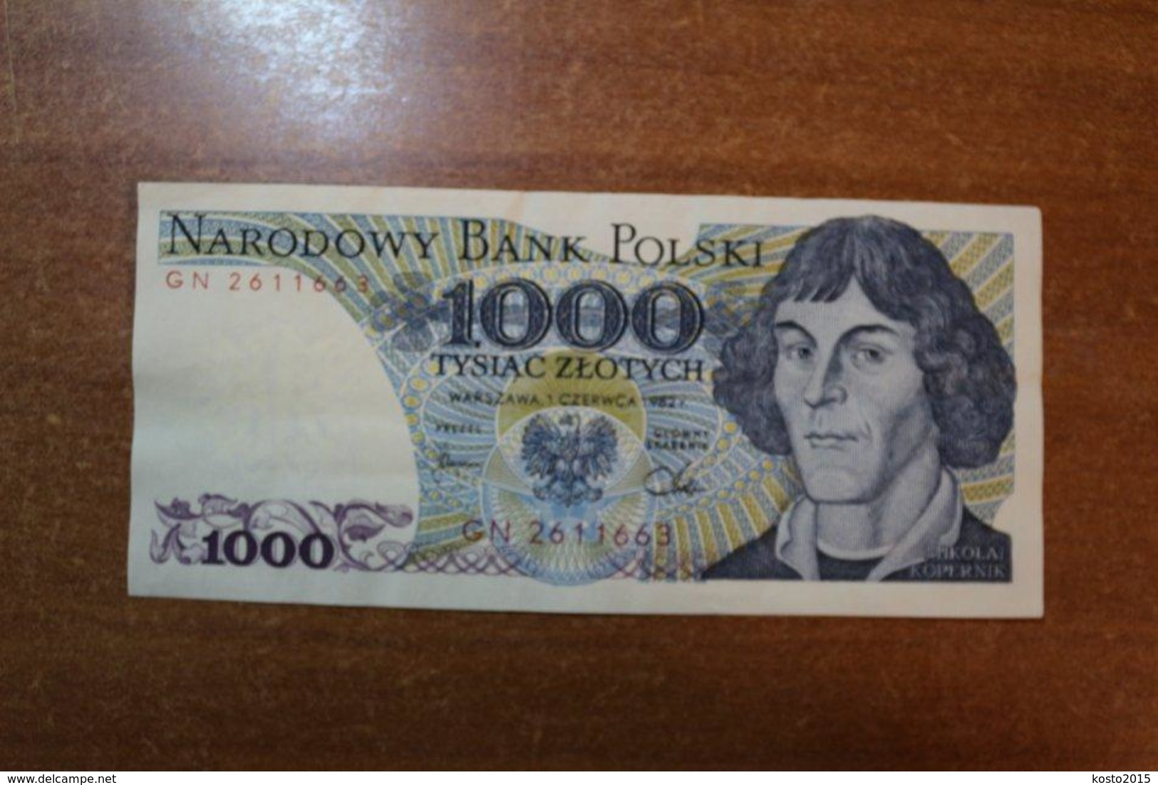 Poland 1000 Gold 1982 - Poland