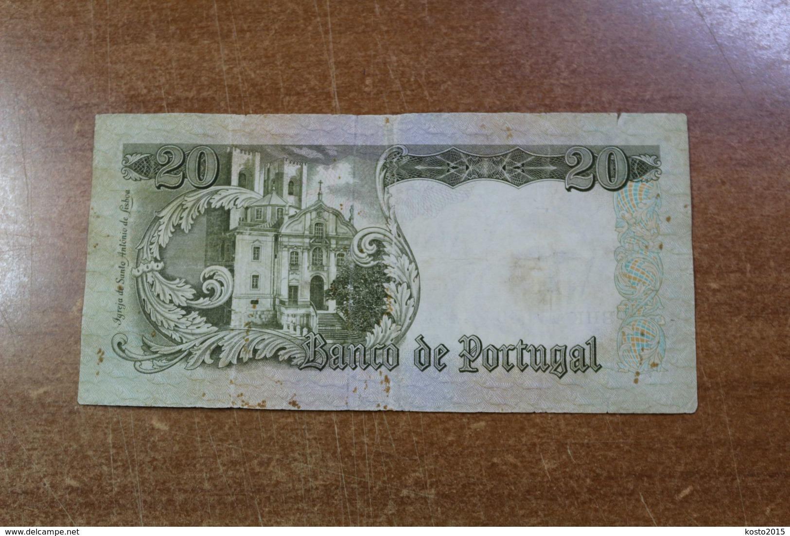 Portugal 20 Escudo 1964 - Portugal