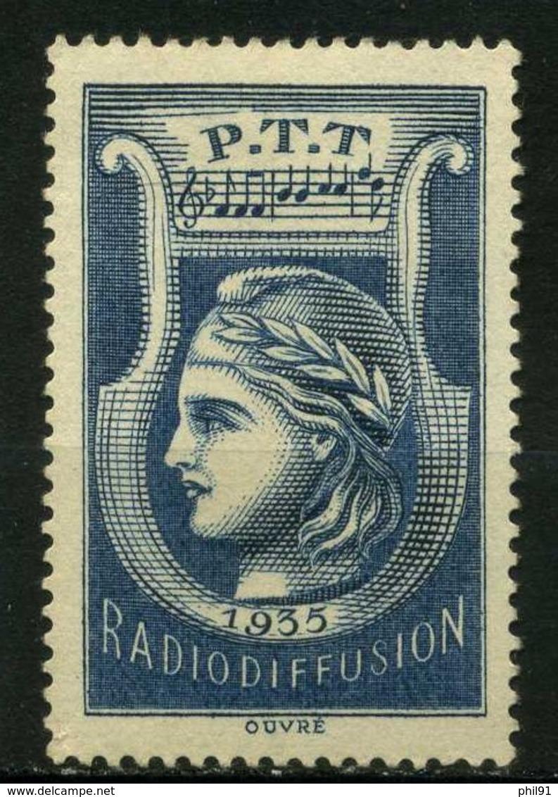FRANCE   Timbre De Radiodiffusion   N° Y&T 1  * NSG - France Radiodiffusion