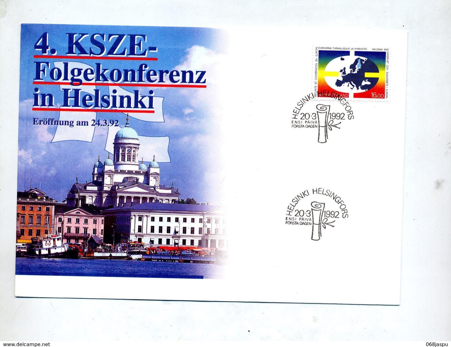 Lettre Cachet  Helsinki Conference - Finlandia