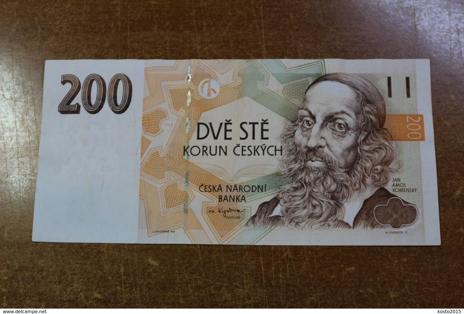 Czech Republic 200 CZK - Tsjechië