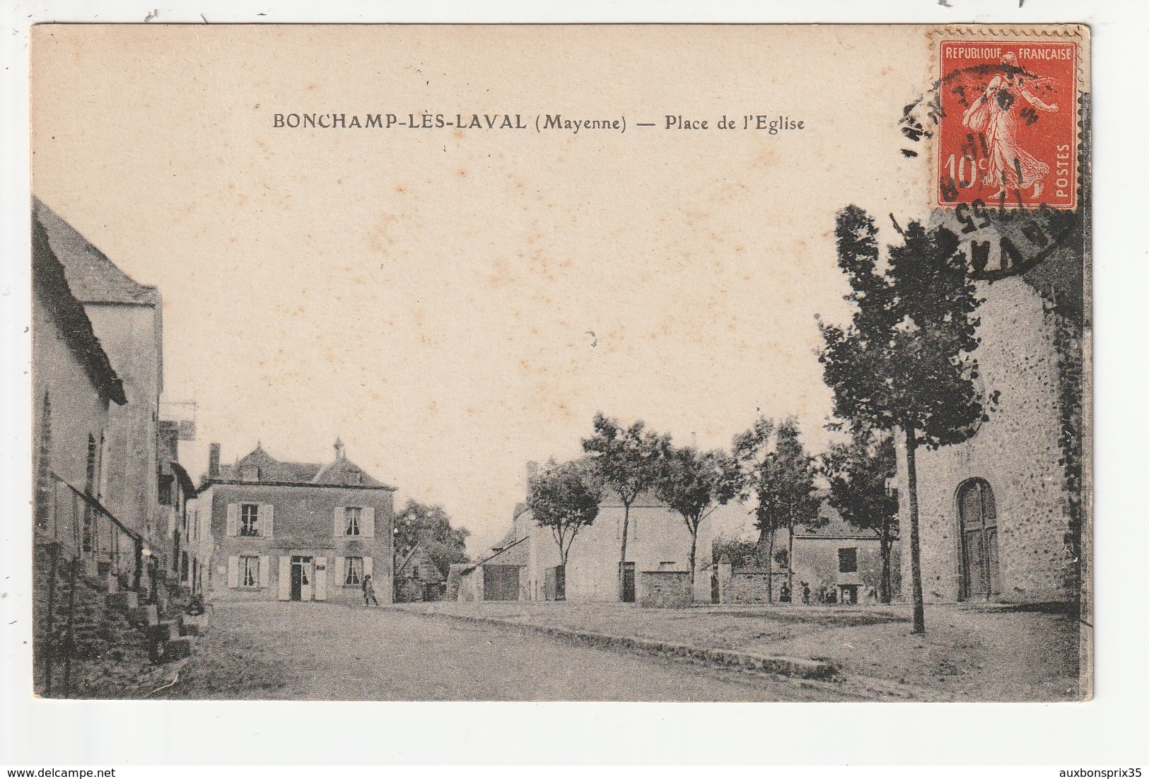 BONCHAMP LES LAVAL - PLACE DE L'EGLISE - 53 - Autres Communes