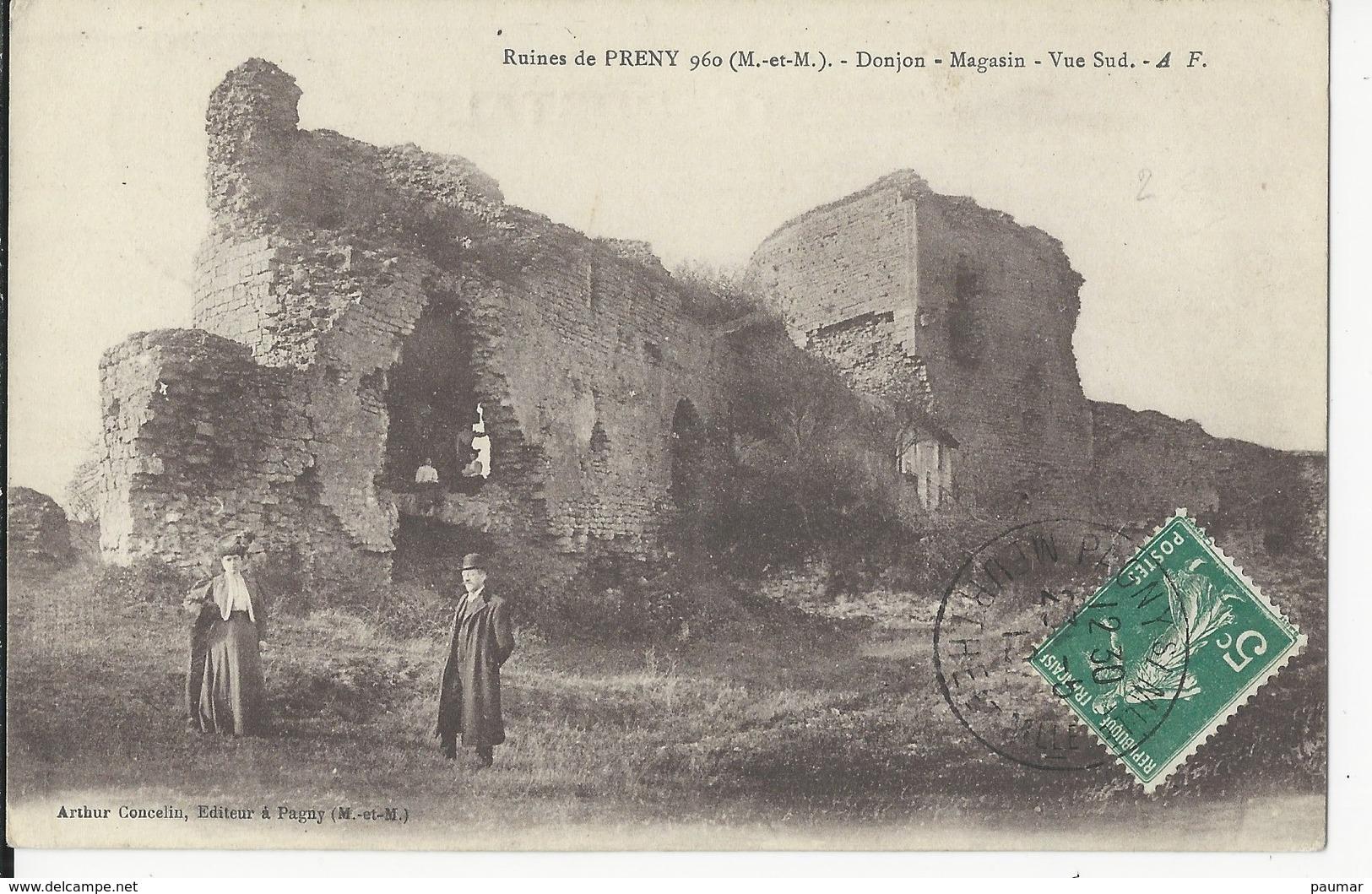 Ruines De Preny .     Animation - France