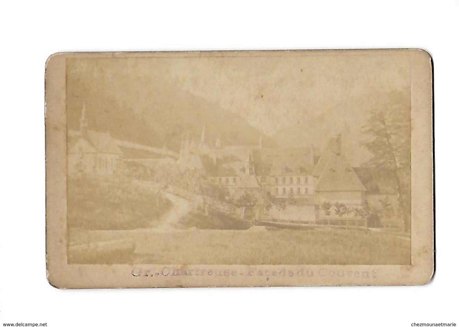 GRANDE CHARTREUSE FACADE DU COUVENT - CDV PHOTO ISERE - Anciennes (Av. 1900)