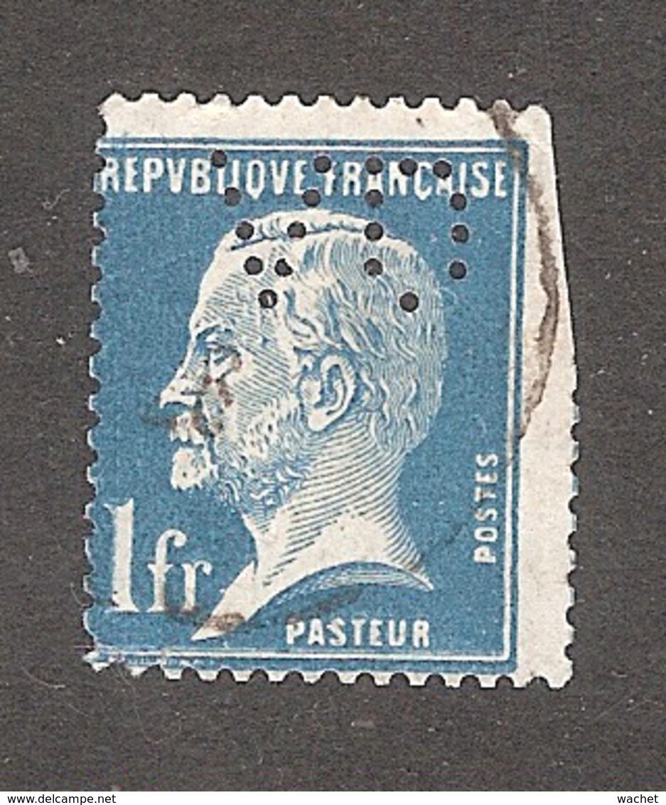 Perforé/perfin/lochung France No 179 VD Verley Decroix Et Cie (18) - France