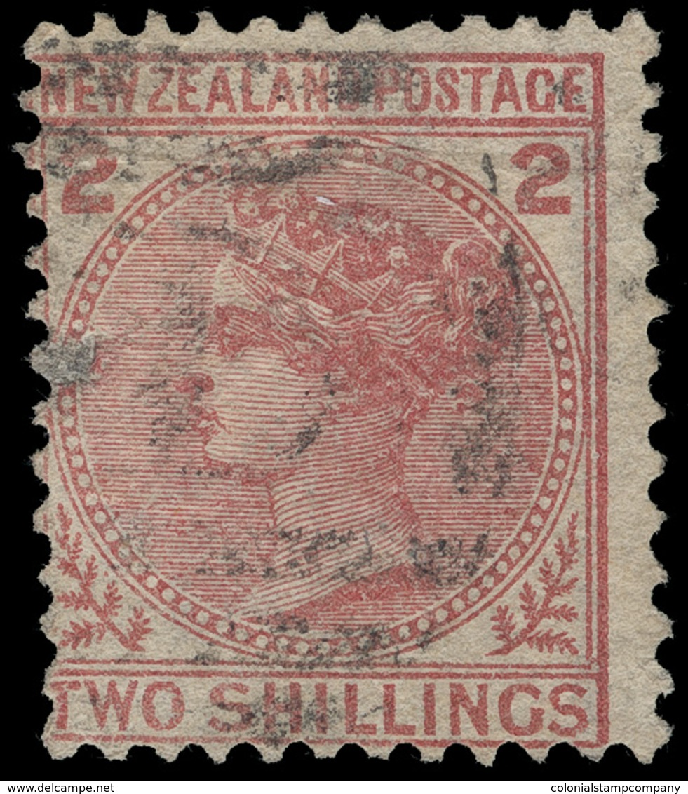 O New Zealand - Lot No.1041 - 1855-1907 Crown Colony