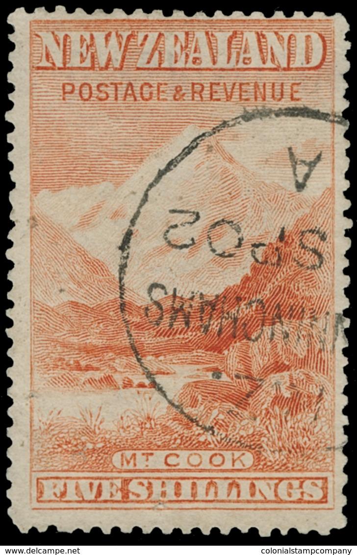 O New Zealand - Lot No.1043 - 1855-1907 Crown Colony