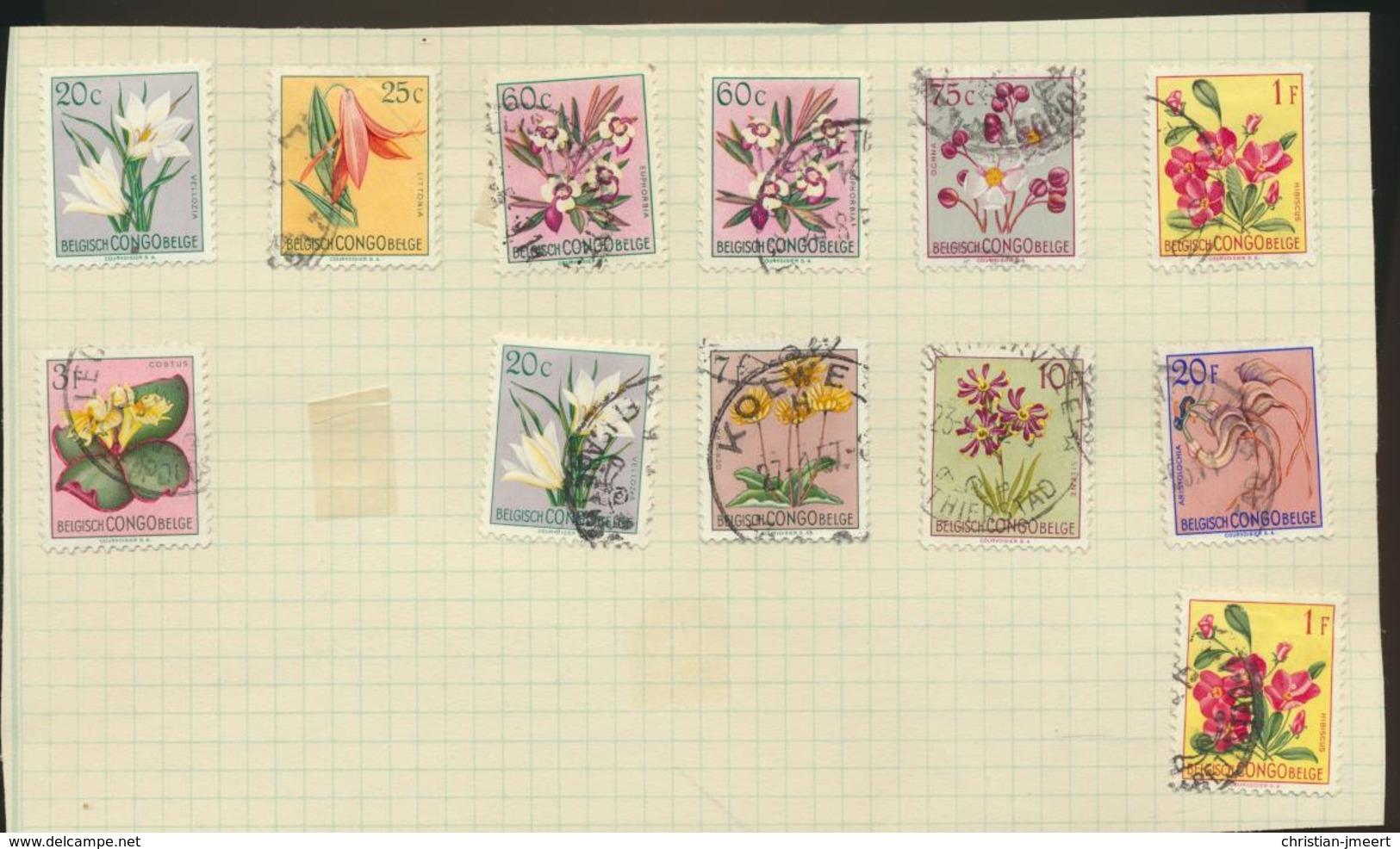 BELGIAN CONGO  BELGISCH CONGO BELGE Lot Van 176 Stamps - Congo Belge