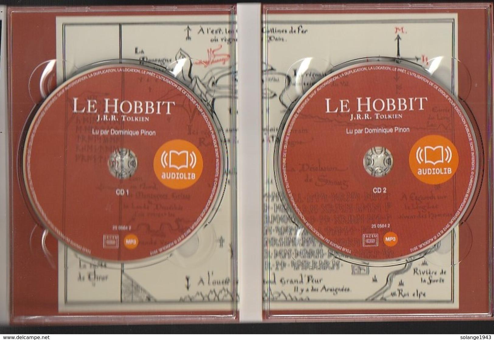 CD  Livre Lu  LE HOBBIT  De Tolkien  AUDIOLIB  Etat: TTB Port 190 GR - Sin Clasificación