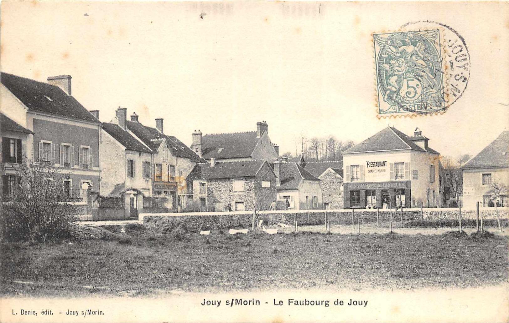 Jouy S/Morin - Le Faubourg De Jouy - France