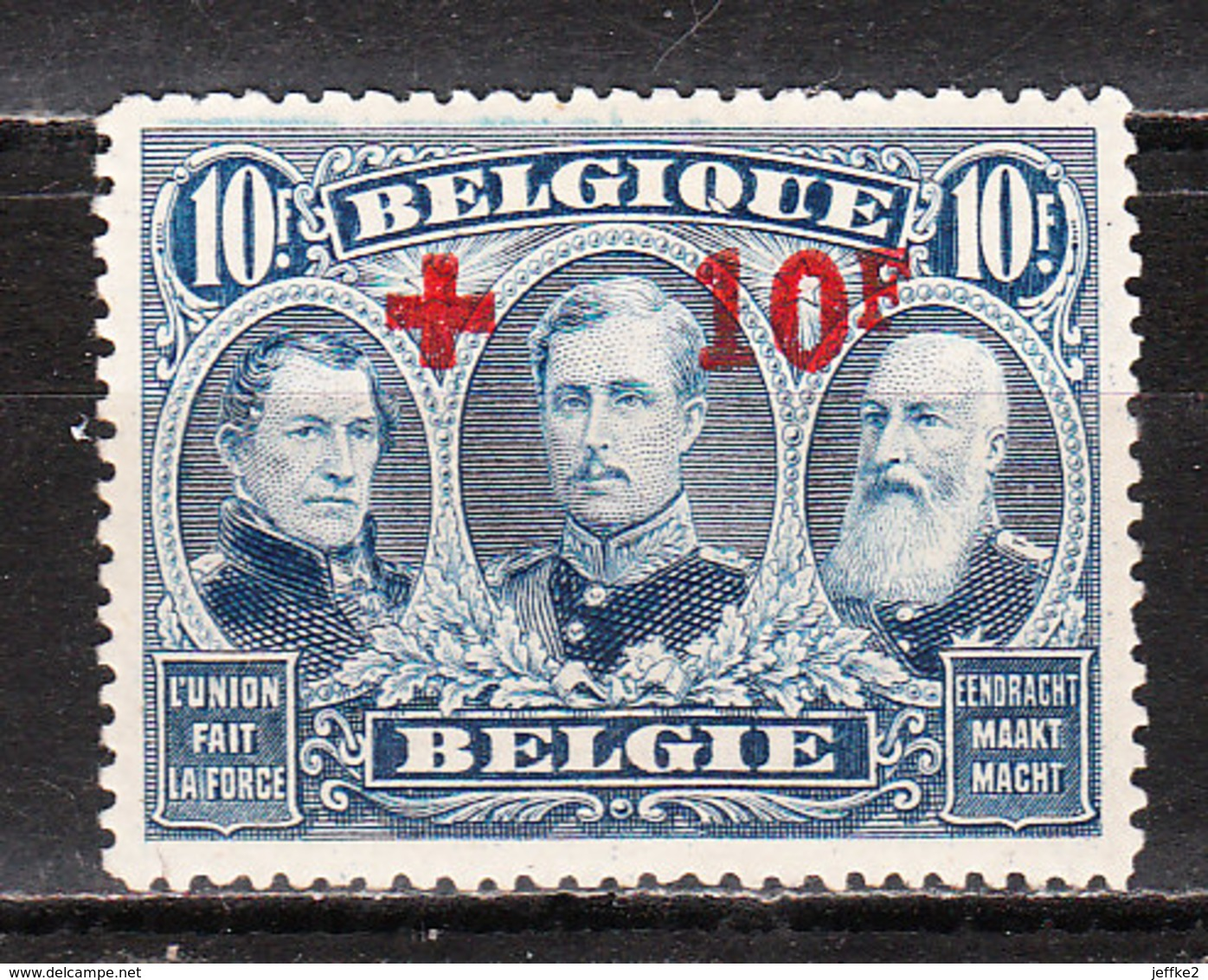 163*  Croix-Rouge - LA Bonne Valeur - MH* - LOOK!!!! - 1918 Cruz Roja