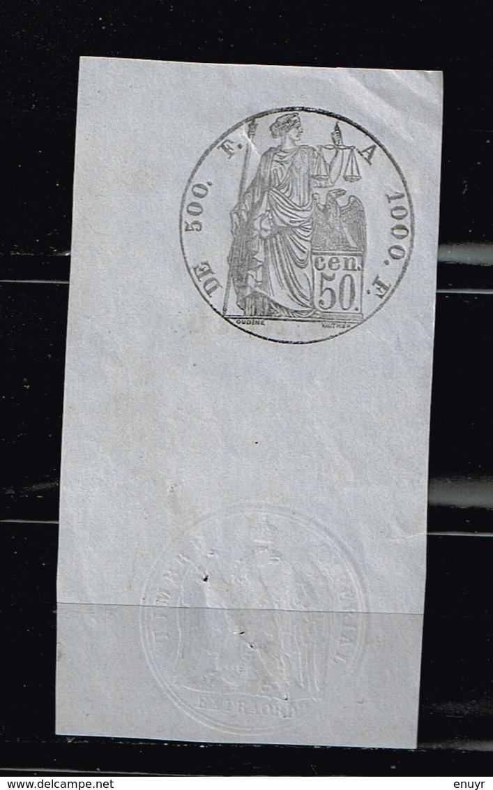 Curiosité Fiscale à Identifier - Briefmarken