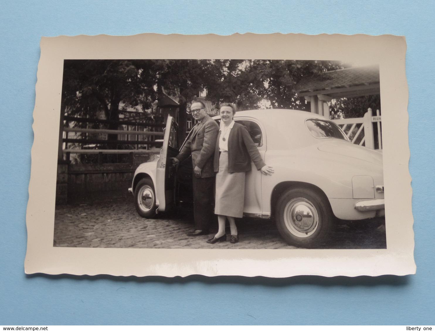 Oude AUTO / VOITURE Automobile / Old CAR  ( Format +/- 12 X 8 Cm. ) Foto Anno 1956 ! - Automobiles