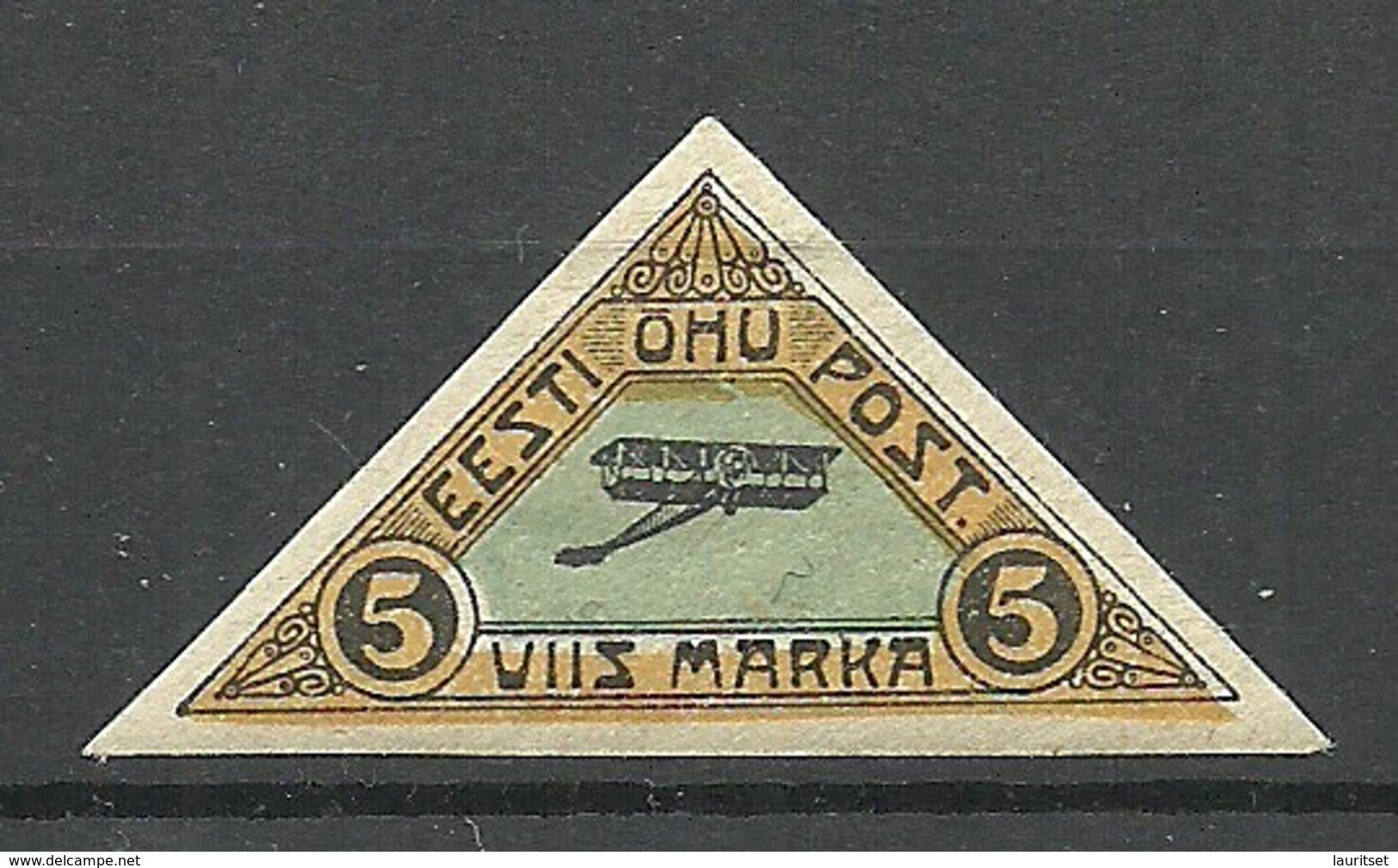 Estland Estonia 1920 Michel 14 * - Estland