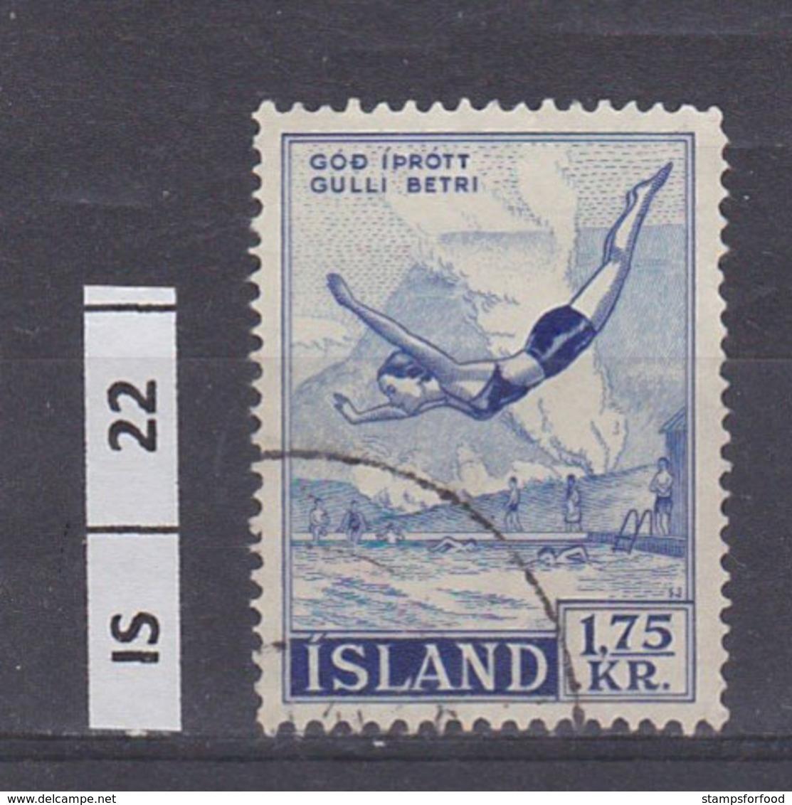 ISLANDA     1957Sport, 1,75 Usato - 1944-... Repubblica
