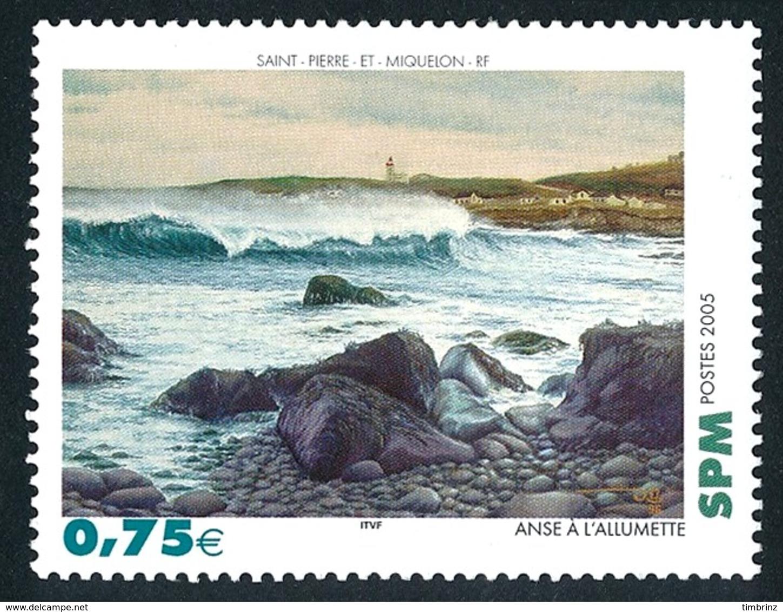 ST-PIERRE ET MIQUELON 2005 - Yv. 841 **   Faciale= 0,75 EUR - Tableau Anse à L'Allumette  ..Réf.SPM11548 - St.Pierre Et Miquelon