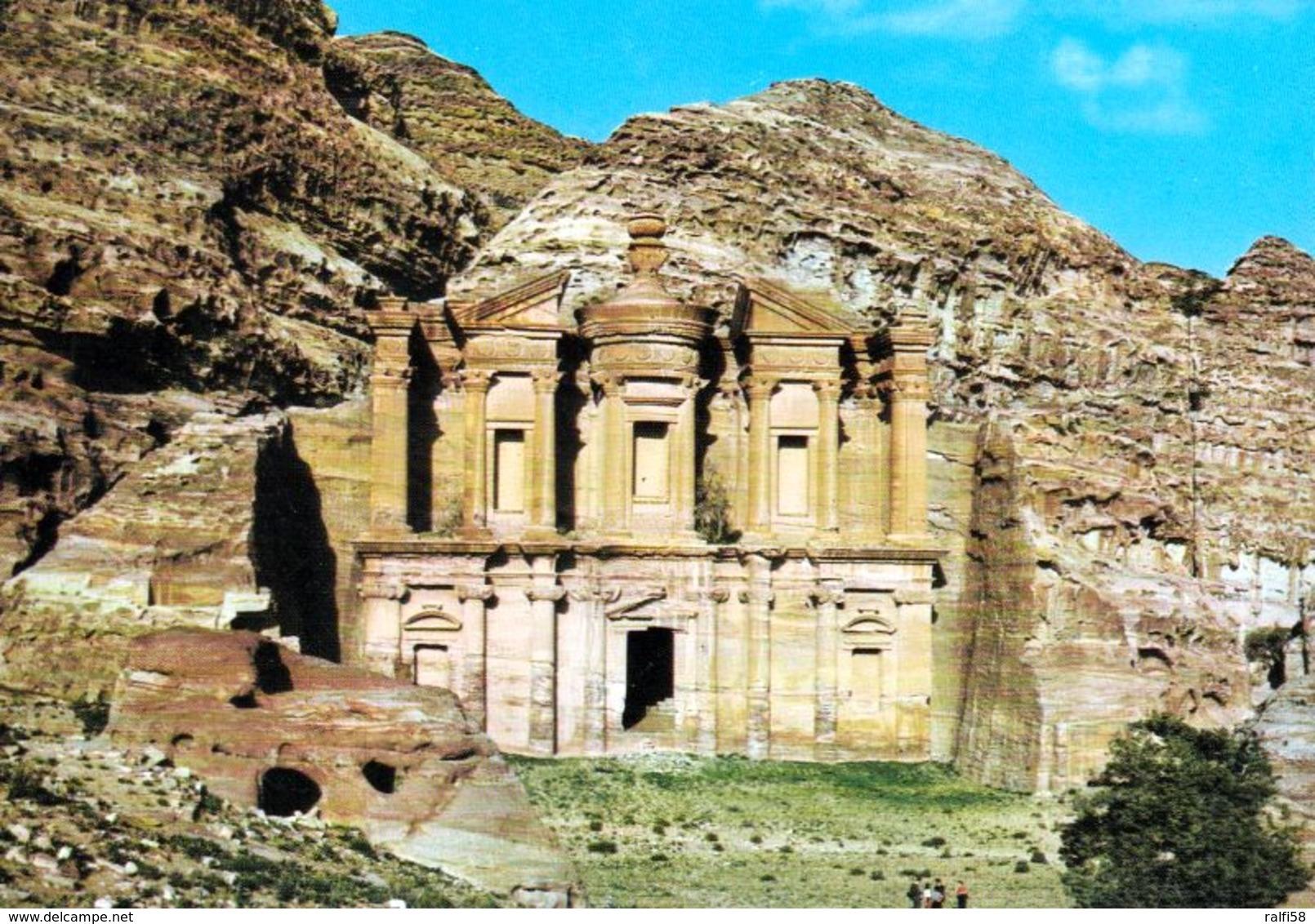 1 AK Jordanien * Tempel Ed-Deir (auch Ad Deir) In Der Antiken Stadt Petra - Erbaut Im 1. Jh. Nach Christus * - Jordanien