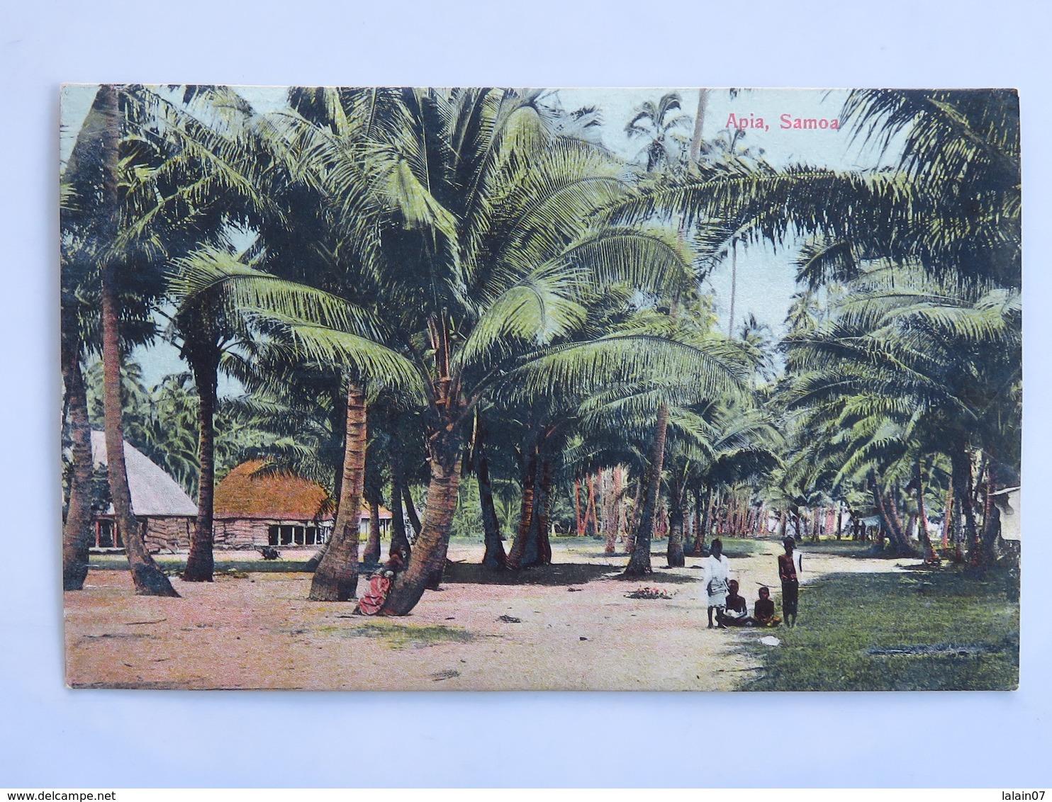 C. P. A. : SAMOA : APIA Samoa - Samoa
