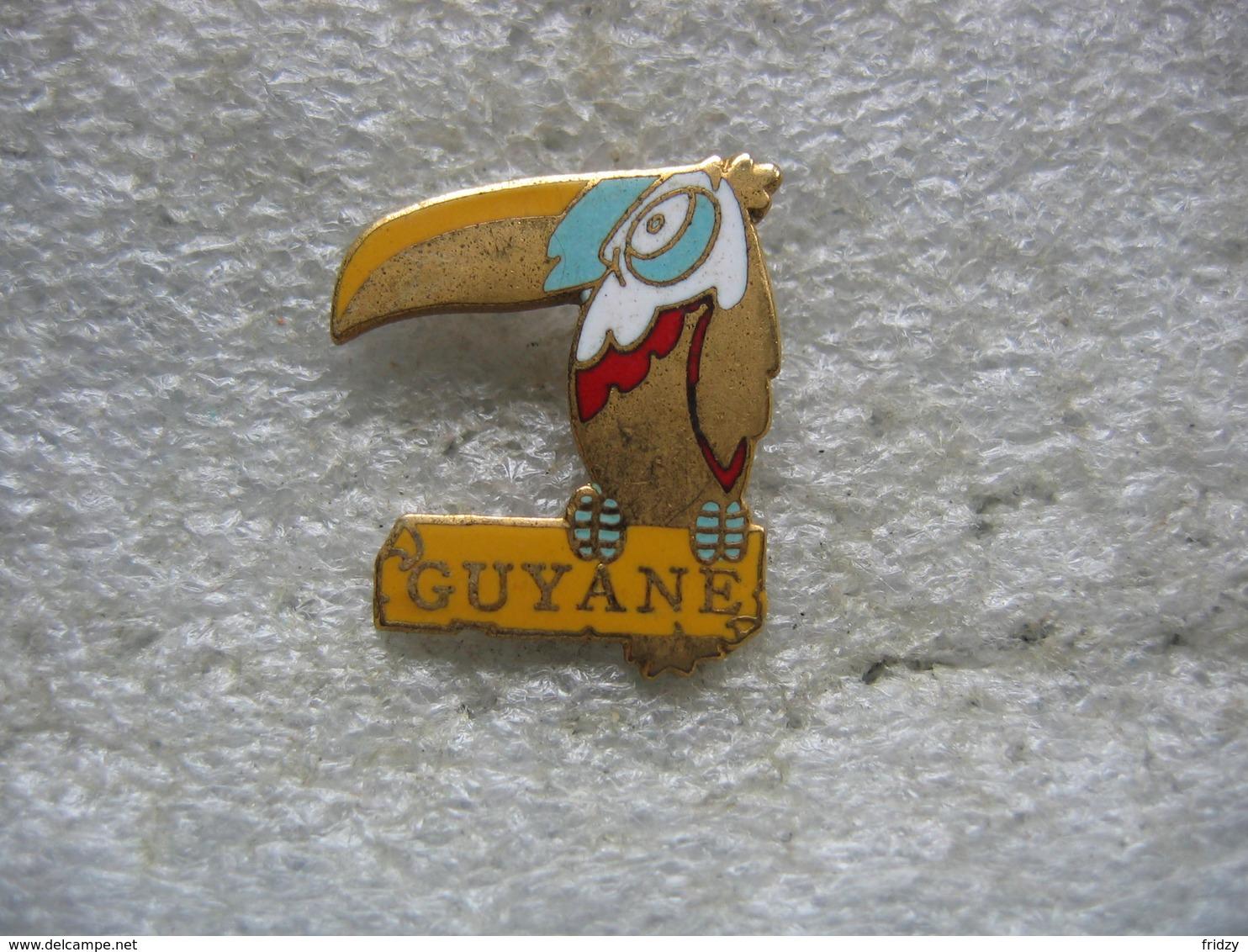 Pin's Oiseau De La GUYANE - Animaux