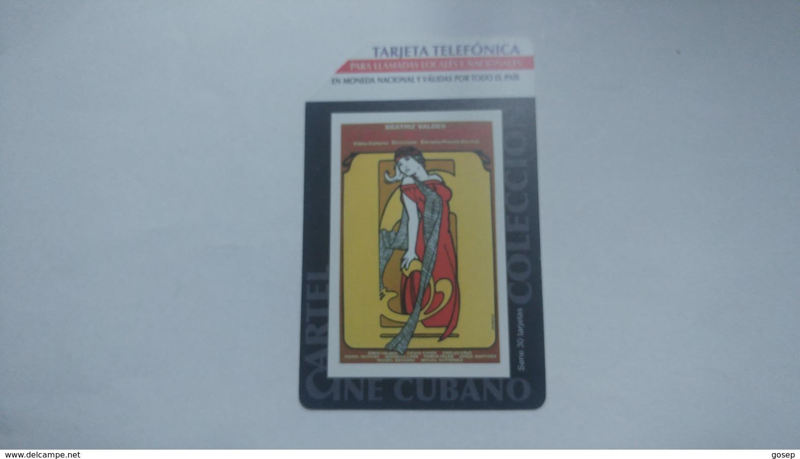 Cuba-para Llamadas Urmet-(5.00pesos)-used Card+1card Prepiad Free - Cuba