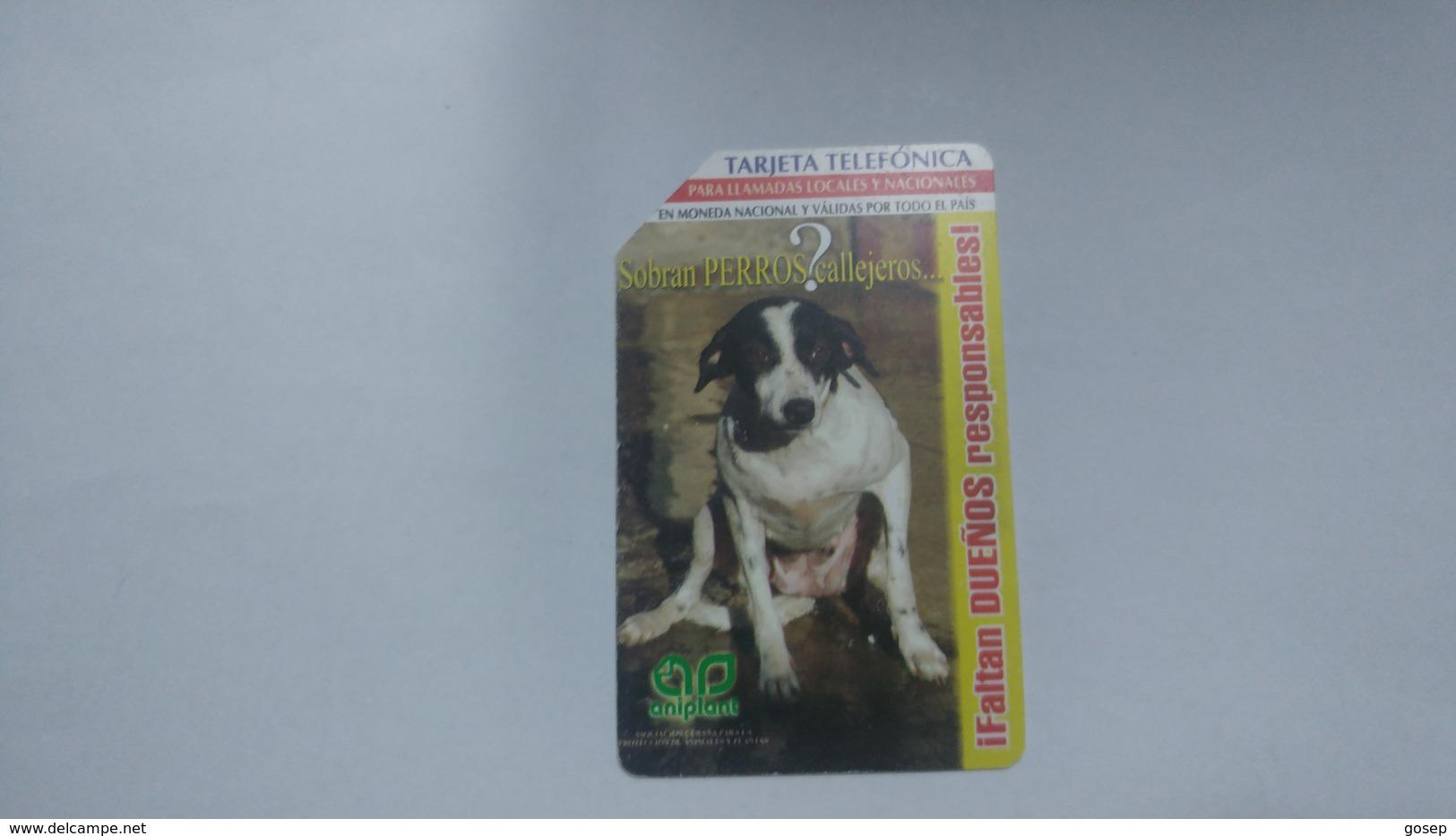 Cuba-ifaltan Duenos Dog-urmet-(7.00pesos)-used Card+1card Prepiad Free - Cuba