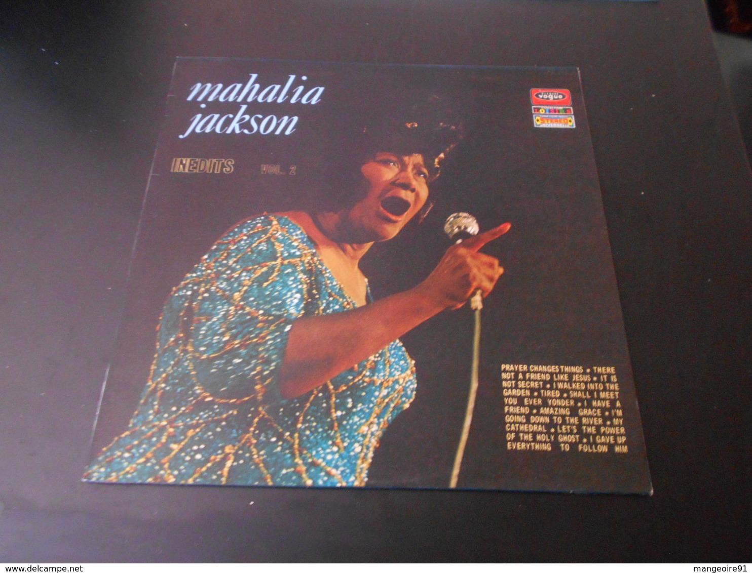 Disque 33 Tours Jazz  MAHALIA JACKSON Inédits - Volume 2 - Série Collection Loisirs (jazz, Funk, Soul - Style : Gospel) - Jazz