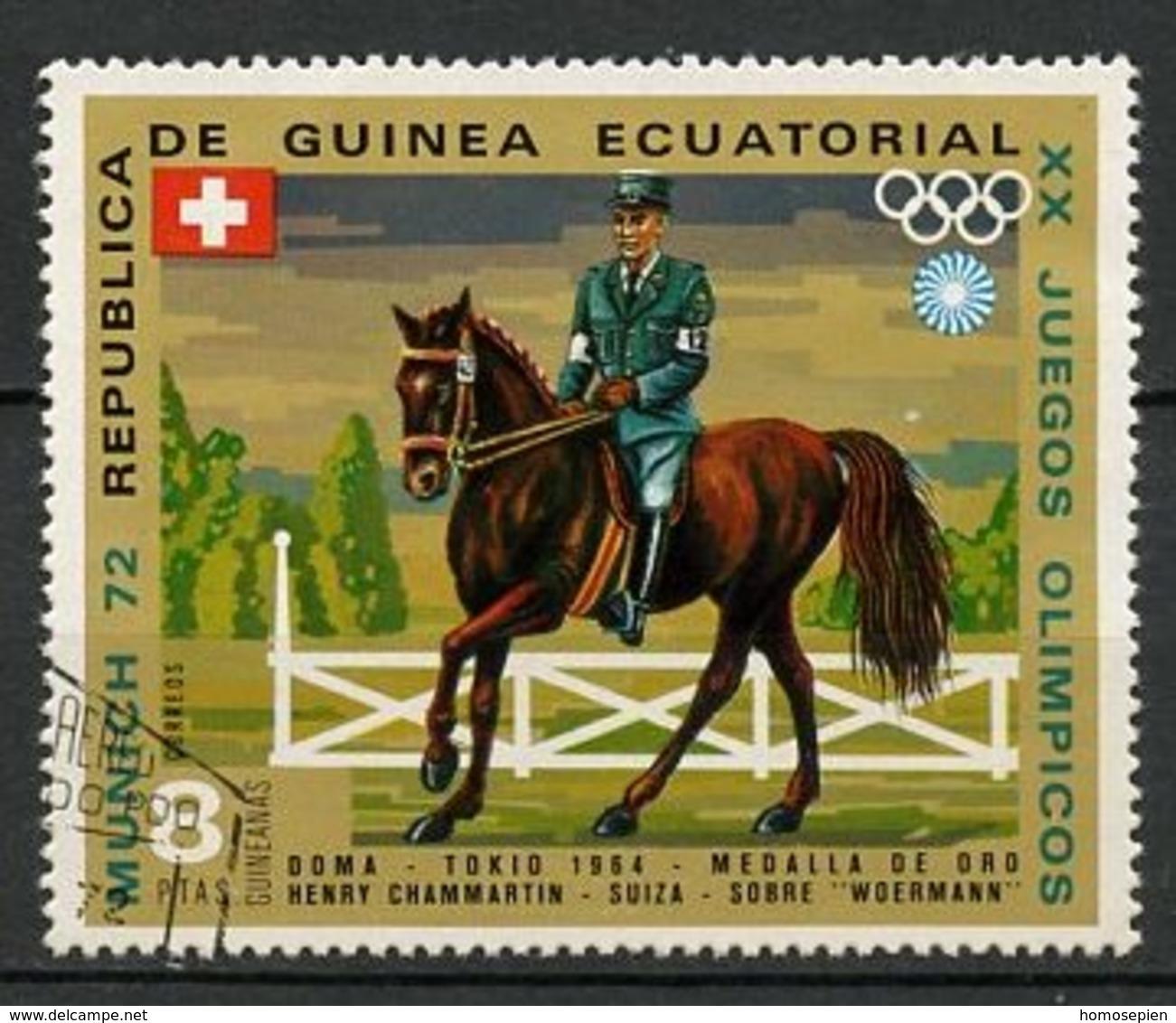 Guinée équatoriale - Guinea 1972 Y&T N°25-8p - Michel N°130 (o) - 8p H Chammartin - Guinée Equatoriale