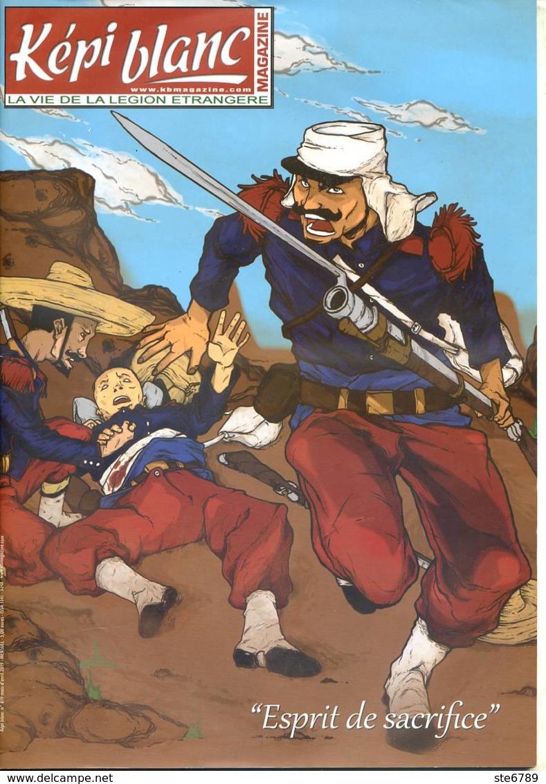 Képi Blanc N° 819 Militaria Légion Etrangere - Riviste & Giornali